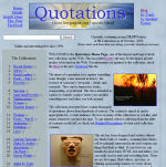 The Quotations Home Page